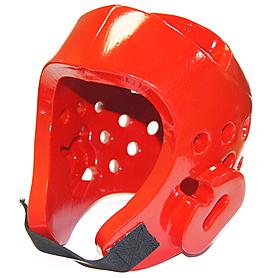 Шлем для таеквондо WTF красный