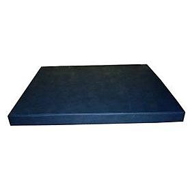 Мат гимнастический 100х120х10 см (темно-синий)