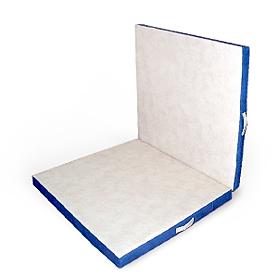 Мат гимнастический раскладной 100х100х10 и 100х100х10 см (слоновая кость)
