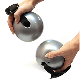 Мячи-утяжелители для фитнеса 2 шт по 1,5 фунта Toning ball