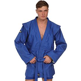 Куртка для самбо синяя Green Hill