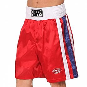Шорты боксерские Green Hill Olympic (красные)