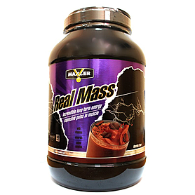 Белково-углеводная смесь Maxler Real Mass 4540g (10lbs)
