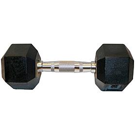 Гантели профессиональные шестигранные 2 шт по 12,5 кг
