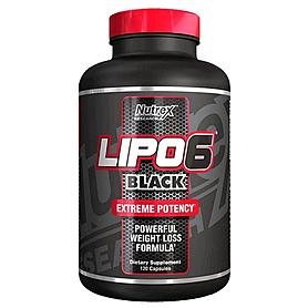 Жиросжигатель Nutrex NR Lipo-6 Black 120 liqui-caps