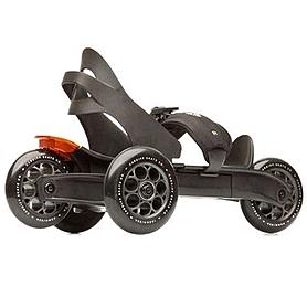 Коньки роликовые Cardiff Skate S1 черно-бронзовые, р. 36-47