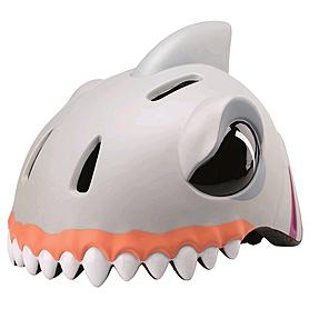 Шлем анимированный Crazy Safety 3D Белая Акула