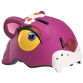 Шлем анимированный Crazy Safety 3D Чеширский кот с фонариком